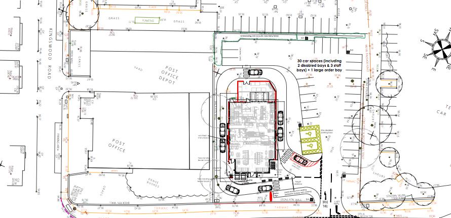 New Planning Application Drive Through Kfc Bury New Road
